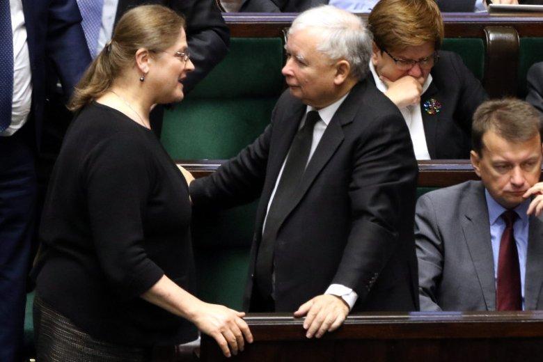 Zaczęło się. Dla prof. Pawłowicz większość w Sejmie i pisowski prezydent to za mało
