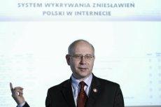MSZ wydało 250 tys. zł na platformę internetową Rycerz, której działalność została sparaliżowana.