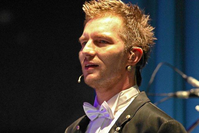 Adam Sztaba na koncercie w Zakopanem