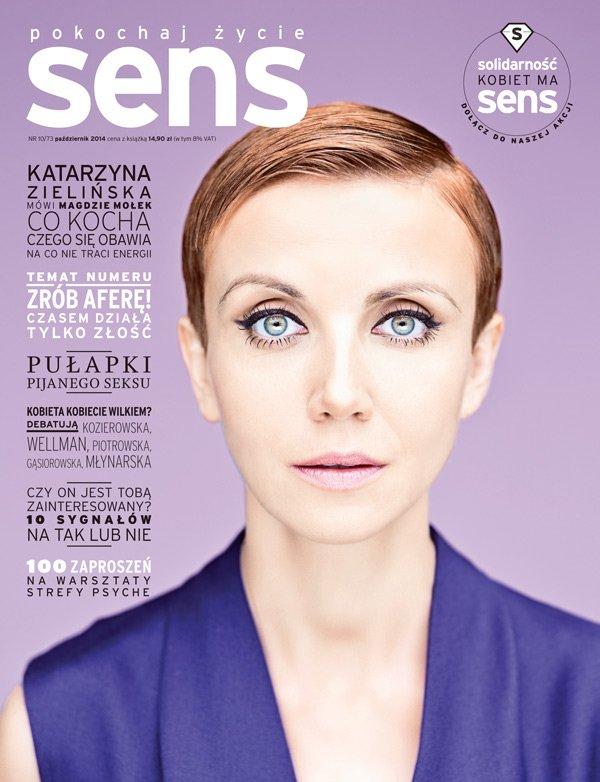 Okładka październikowego magazynu SENS
