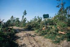 Nawałnica przeszła przez północ Polski w nocy z 11 na 12 sierpnia.