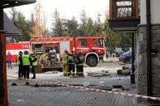 W Białce Tatrzańskiej doszło do wybuchu gazu w hotelu.