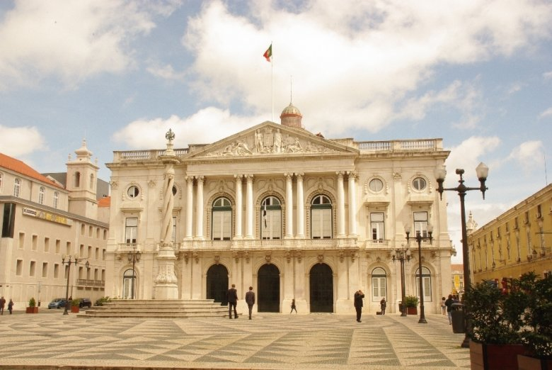 Ratusz w Lizbonie. Zdjęcie: Krzysztof Gierak