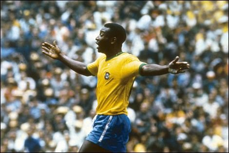 Pele, symbol legendarnej Brazylii '70