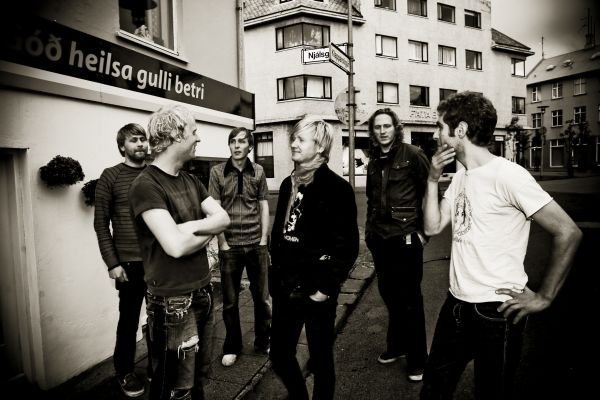 Grupa Arstidir, którą miałem okazję widzieć na żywo w trakcie trasy z Pain of Salvation