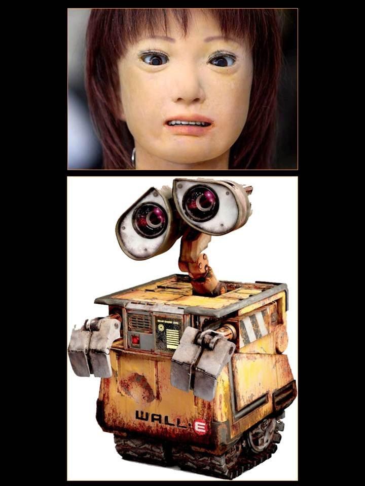 """Łatwiej nam polubić wyglądającego jak śmietnik WALL-Ego, niż robota wyglądającego """"prawie jak człowiek""""."""