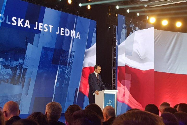 Premier Mateusz Morawiecki zapowiedział, że partia rządząca chce zrealizować kilka nowych projektów.