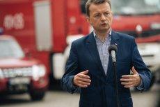 Minister Błaszczak ostro skrytykował marszałka województwa pomorskiego Zbigniewa Struka. On odpowiedział równie ostro.