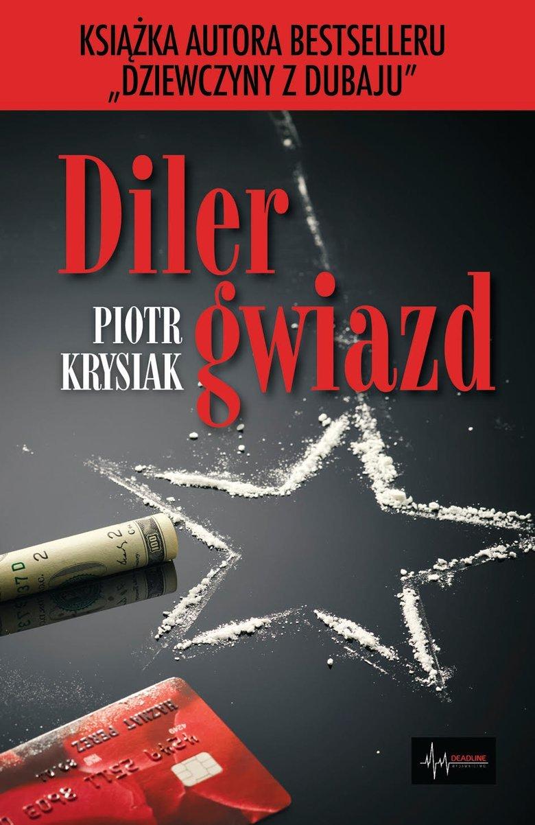 """Filip Wiśniewski jest jednym z bohaterów książki Piotra Krysiaka pt. """"Diler gwiazd""""."""