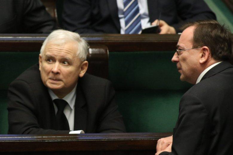 Prezes PiS Jarosław Kaczyński nie wiedział o intratnej posadzie, jaką objął syn ministra Mariusza Kamińskiego – taka jest oficjalna wersja podana przez rzeczniczkę partii.