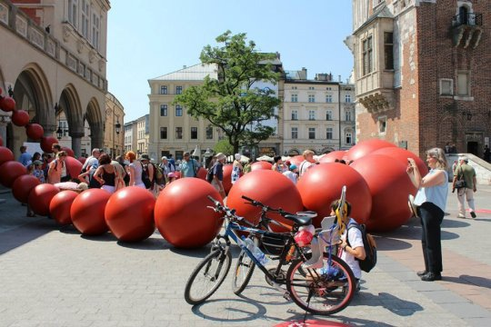 Event na Rynku w Krakowie