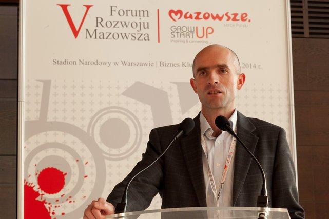 Leszek Grabarczyk - z-ca Dyrektora NCBR