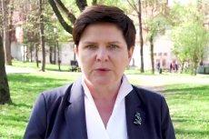 Beata Szydło nagrała filmik z przesłaniem dla rodziców osób niepełnosprawnych.