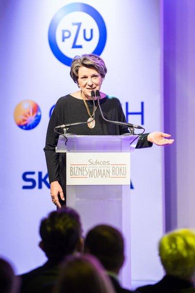 Dr Irena Eris - przewodnicząca Jury w Konkursie Sukces Pisany Szminką Bizneswoman Roku
