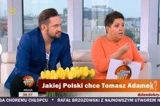"""Dorota Wellman - dziennikarka, która rozniosła Tomasza Adamka. Młynarska: """"To żyleta"""""""