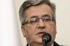 """""""Nie w ilości, a w jakości siła"""" – twierdzi Bronisław Komorowski i apeluje do prezydenta Dudy, żeby ten wykazywał większą aktywność w sprawach obronności Polski."""