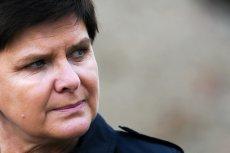 Była premier Beata Szydło zareagowała na doniesienia o szpiegu.