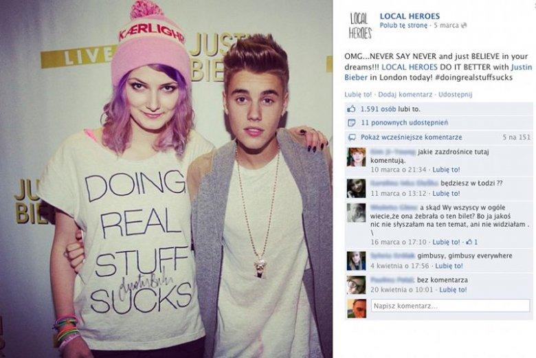 e09cd846351d Justin Bieber przyczynił się do ogromnej popularności polskiej marki  odzieżowej Local Heroes.