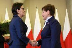 Według Ewy Kopacz Beata Szydło poniesie konsekwencje działań Kaczyńskiego
