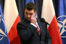 Bartłomiej Misiewicz po zaledwie tygodniu skasował treści ze strony dezinformacja.net, ale zapowiada, że to nie koniec.