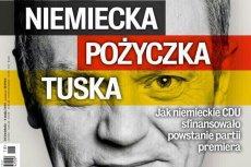 """Czy nowy numer """"Wprost"""" pogrąży premiera Donalda Tuska, którego partia miała być finansowana przez niemieckich chadeków z CDU?"""
