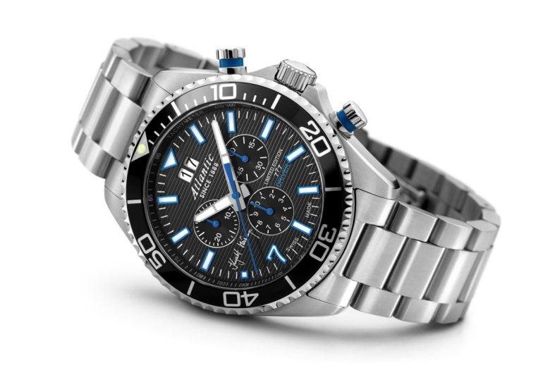 Najnowszy zegarem marki Atlantic