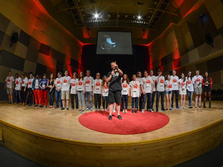 Cały zespół TEDxWrocław
