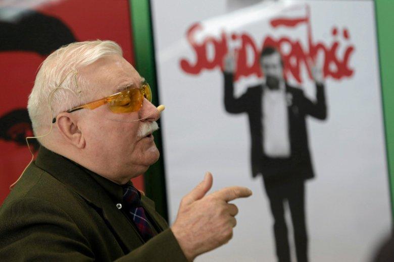 Lech Wałęsa krytycznie odniósł się do obecności ONR w Stoczni Gdańskiej.