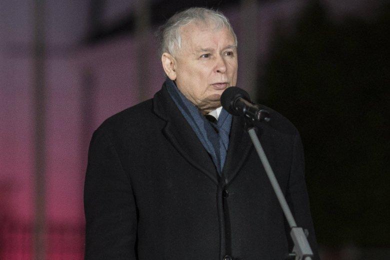 Jarosław Kaczyński przemówił w 9. rocznicę katastrofy smoleńskiej.
