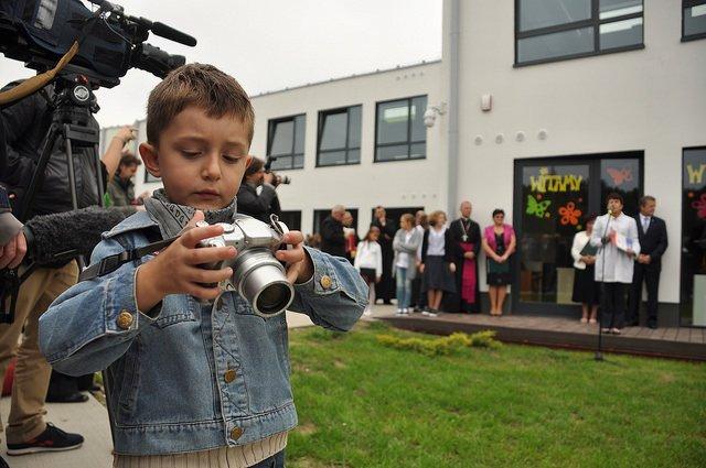 Otwarcie eko szkoły w Chotomowie (gm. Jabłonna)