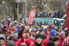 I Poznański Bieg Niepodległości. W biegu wzięło udział 10 tys. osób.