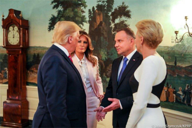 Prezydenci Duda i Trump podpisali wspólną deklarację o współpracy obronnej.