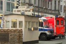 W Berlinie doszło do napadu przy Checkpoint Charlie.