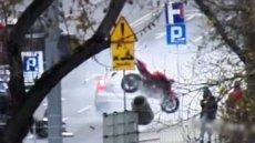 wypadek motocykla w Lublinie