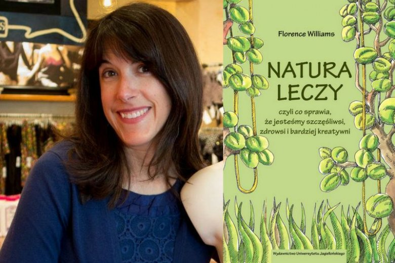 Florence Williams to amerykańska dziennikarka i pisarska zafascynowana naturą. W swojej najnowszej książce dostarcza dowodów na to, jak duże znaczenia w odczuwaniu przez człowieka szczęścia odgrywa miejsce, jakim ''oddycha''