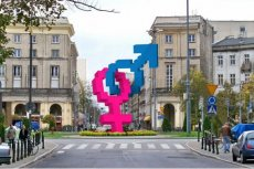 """Symbol """"heteroseksualizmu"""", Warszawa"""