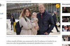 3-miesięczne niemowlę zostało potraktowane niczym groźny terrorysta