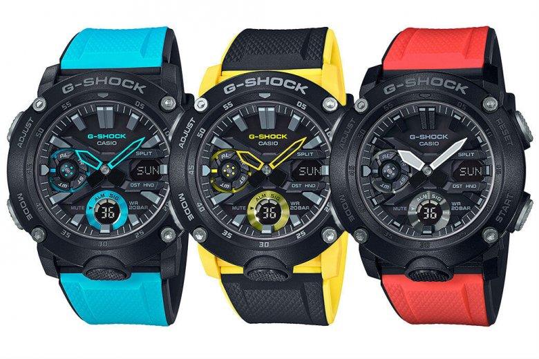 G-Shock G-Carbon GA2000