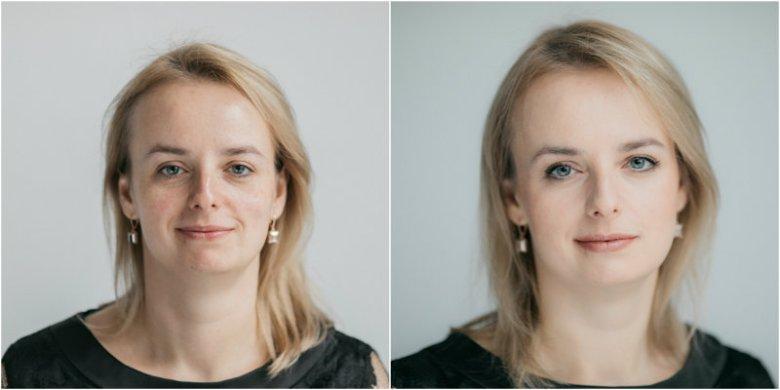 Ania - przed i po