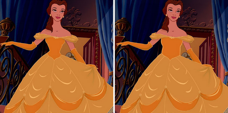 "Bella –bohaterka filmu ""Piękna i bestia""."