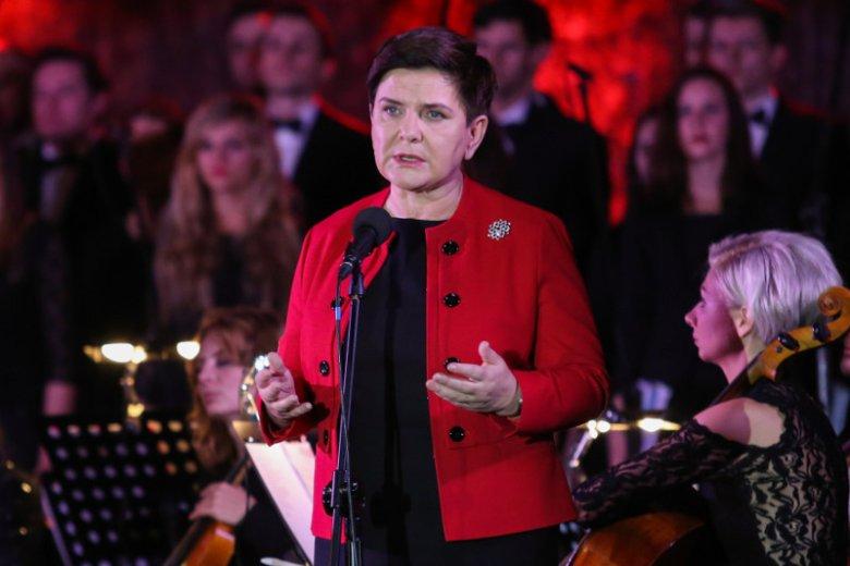Premier Szydło obiecała wsparcie finansowe dla rodziny antyterrorysty.