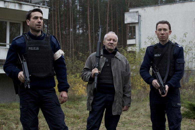 Od lewej: Despero (Marcin Dorociński), Metyl (Krzysztof Stroiński), Quantico (Rafał Mohr)