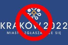 Nie dla Igrzysk w Krakowie