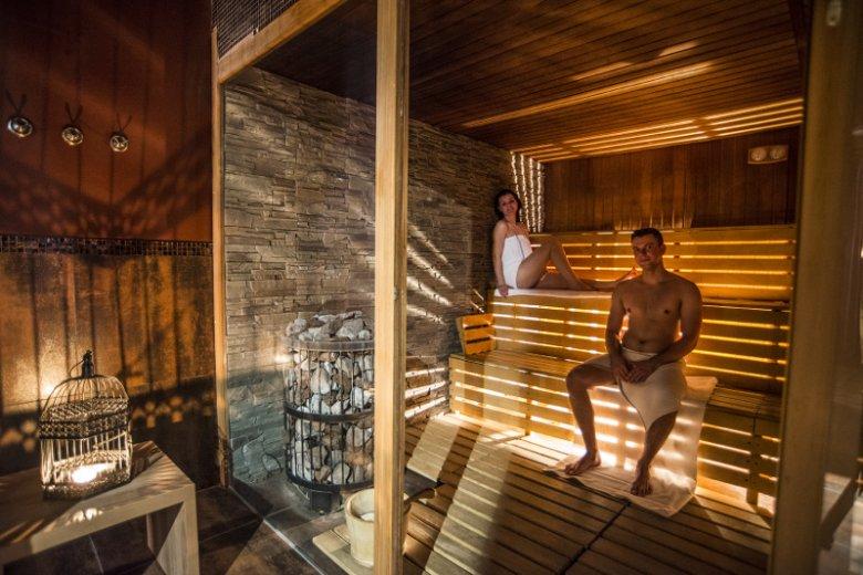 Sauna sucha w hotelu BoniFaCio