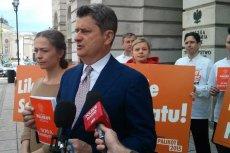 Janusz Palikot ma nowy projekt konstytucji. Chce uzależnienia liczby posłów od frekwencji wyborczej.