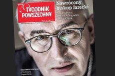 """Bp Piotr Jarecki opowiada """"Tygodnikowi Powszechnemu"""" o swoim uzależnieniu od alkoholu."""