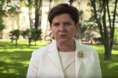 Beata Szydło zabrała głos ws. protestu przeciw ustawie antyaborcyjnej.