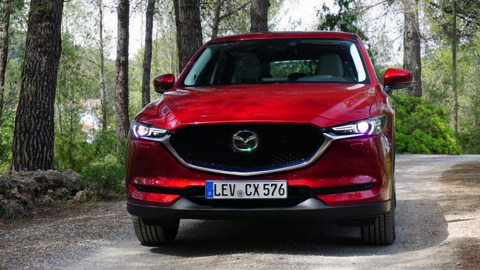 Nowa Mazda CX-5 to bardzo udane auto.