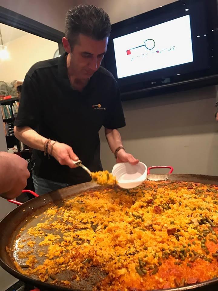 Paella i nauka hiszpańskiego