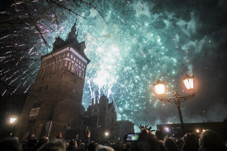 Tak Nowy Rok witano w Gdańsku.